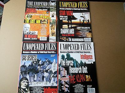 6 x Issues Unopened Files Magazines