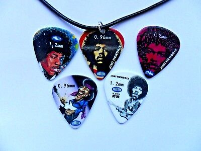 Plectrum Leather Necklace   SIX To Choose ADELE   Guitar Pick