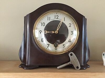 Smith Enfield 8 Day Bakelite Clock Not Working