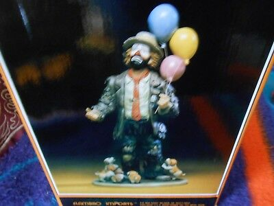"""Flambro Emmett Kelly Jr. Signature Collection """"my Favorite Things W/base"""