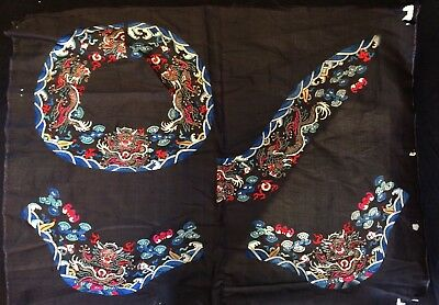 Antique Chinese Silk Embroidery/Sampler