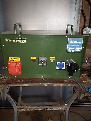 Transwave convertor, single to 3 phase,