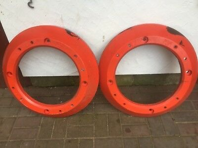 2 Rear nuffield wheel weights