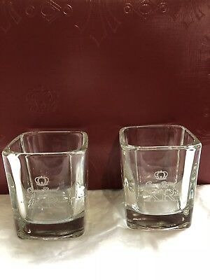 Rare Crown Royal XR Glass Cups