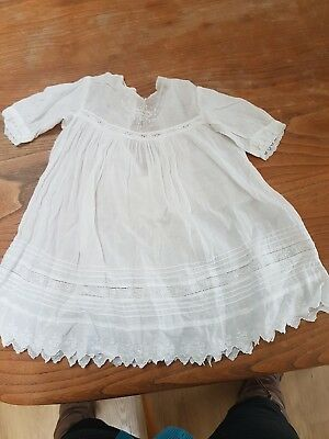 #1 Victorian antique old baby dress christening party gown dress