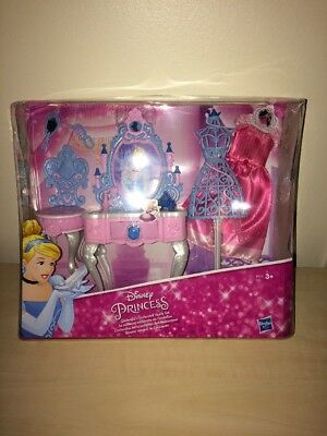Disney Princess Cinderella's Enchanted Vanity Set - Brand New Hasbro Girls Toy