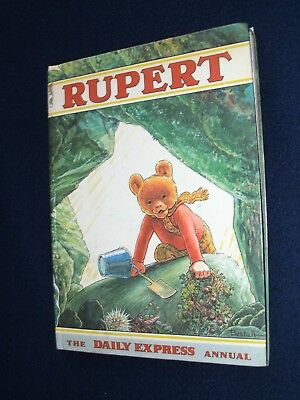 Classic Rupert Annual 1972 (1971 printing) Good condition