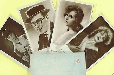 ROSS VERLAG - 1920s Film Star Postcards produced in Germany #961 to #1010