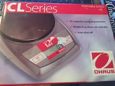 Ohaus CL series CL2000 Portable compact Scale Balance 2000 g X 1 g,New