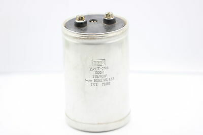 ELECTROLYTIC CAPACITOR HIGH VOLTAGE 1500uF 315/400V ITT NOS 1PC. CA3U16F160415