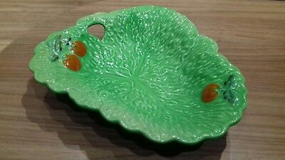 Vintage Beswick Ware Triangular Lettuce and Tomato Pattern Dish No.212
