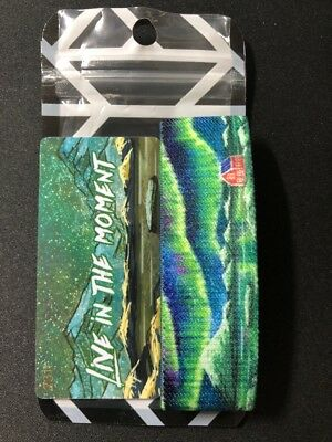 ZOX Silver Straps LIVE IN THE MOMENT #/3000 Unworn Mint