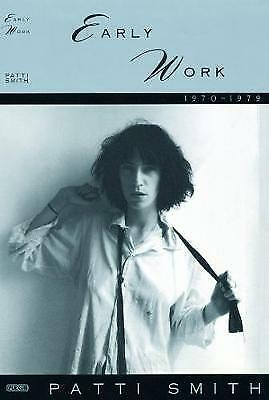 Early Work, 1970-79,HB,Patti Smith - NEW