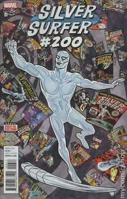 Silver Surfer #6 2016 FN Stock Image