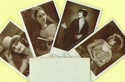 ROSS VERLAG - 1920s Film Star Postcards produced in Germany #1011 to #1052