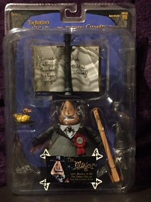 NECA Tim Burton's The Nightmare Before Christmas Series 1 The Mayor Figure MIB