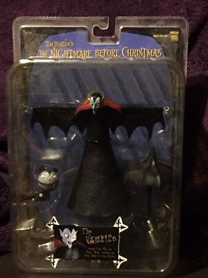 NECA Tim Burton's The Nightmare Before Christmas Series 1 The Vampire Figure MIB