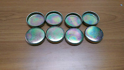 8 x 38mm - Freeze Plugs Core Plugs - CUP TYPE - Cylinder Engine Block Water Cups