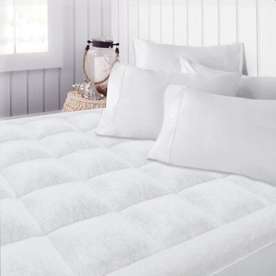 Full Size Pillow Top Mattress Topper Cover Pad Quilted