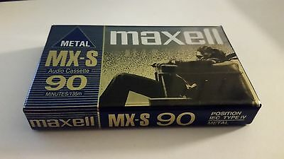 Maxell MX-S 90 New, Sealed Blue Metal Type IV Made in Japan LAST ONE (from me)