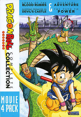 Dragon Ball: Complete Collection Movie 4 Pack DVD