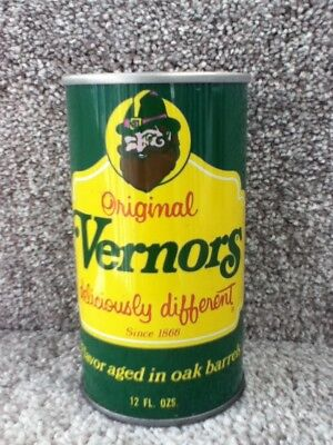 Vernors (Deliciously different) Straight Steel, Pull top. No ml listed