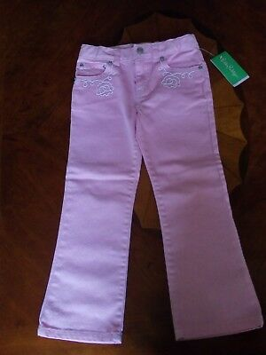 NWT Lilly Pulitzer toddler girl pink denim jeans, size 5