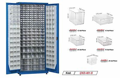 MULTI DRAWER STORAGE  CABINET UNIT SMALL BITS ORGANISER 220 drawers