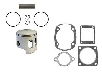 Yamaha G1 Top End Piston & Gaskets .25MM OVERSIZE 2 Cycle Gas Golf Cart 78-89