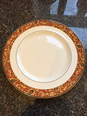 "Wedgwood Bone China Set Of 4 Persia Pattern Dinner Plates 10.75"" Never Been Used"