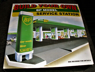 Build Your Own BP Model Service Station, New in Box