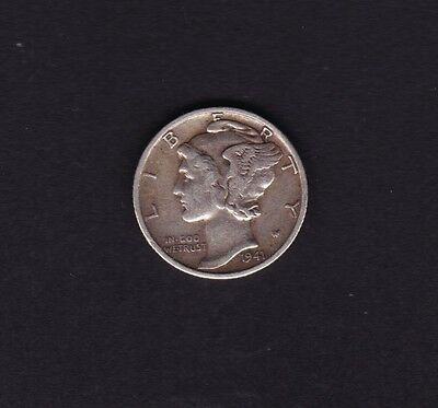 United States 1941 Dime Silver Coin