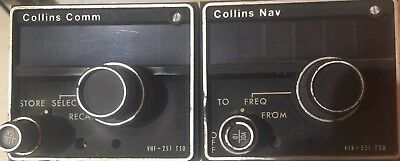 Collins VHF-251 Comm, Collins VIR-351 Nav and mounting rack