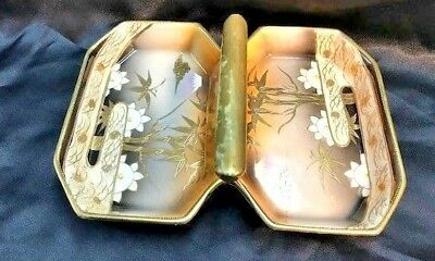 Vintage Porcelain Glass Condiments / Tray Beauty Japan Design ~ Made in Japan