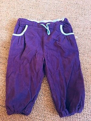 Frugi Purple Cord Pants
