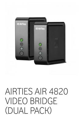 AirTies Air 4820 WLAN Bridge - Set