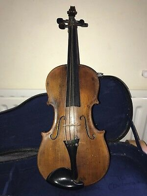 19th Century Violin, Possibly French In Hard Case