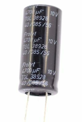 ELECTROLYTIC CAPACITOR FROLIT 4700uF 10V NOS (NEW OLD STOCK) 1PC. CA346U1F270717