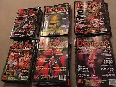 The DarkSide magazine job lot collection. Issues 1 to 139.