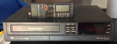 NEC VHS Player  MODEL : N-9083A with remote control N9083A parts not working