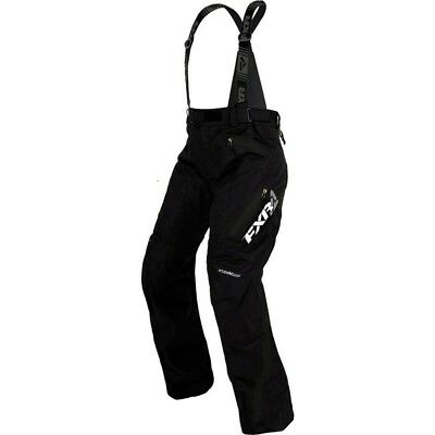 FXR Vertical Pro '17 Womens Uninsulated Snow Pants/Bibs Black