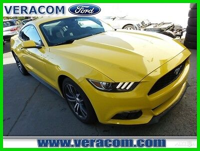 2016 Ford Mustang EcoBoost 2016 EcoBoost Used Turbo 2.3L I4 16V RWD Premium