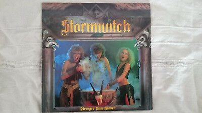 STORMWITCH Stronger than Heaven LP /Vinyl (First Press 1986)