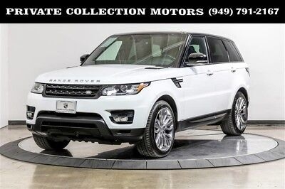 2015 Land Rover Range Rover Sport Supercharged Sport Utility 4-Door 2015 Land Rover Range Rover Sport Supercharged 1 Owner Clean Carfax