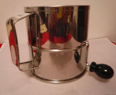Crestware 8 Cup Commercial Flour Sifter - NEW