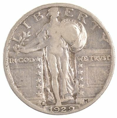 1929-S Standing Liberty Quarter Dollar *901