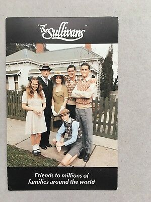 AUSTRALIAN TV FAN CARD THE SULLIVANS CSST SHOT AS POSTCARD 9x14cm