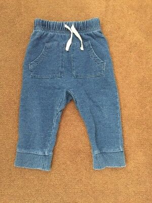 Baby's Seed Pant - Size 0 - 6-12mths - Denim Colour