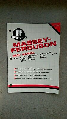 Massey Ferguson Shop Manual - I&T MF-14
