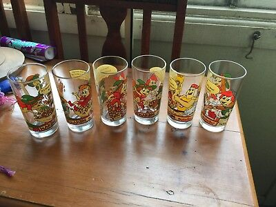 6 Nutella Collectible Glasses Making Nutella
